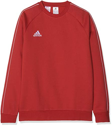 adidas Kinder Core18 SW Top Y Sweat-Shirt, Rot (power red/White), 3XL (15-16