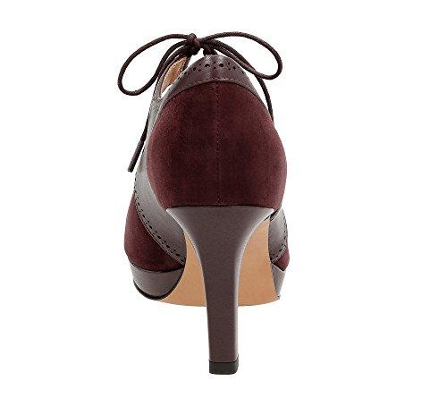 Clarks , Herren Stiefel Aubergine Leather