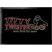 Une Nuit En Enfer Paillasson Essuie-Pieds - Titty Twister Open Dusk Till Dawn (70 x 50 cm)