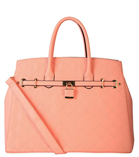 diophy-sz-3051-vegan-leather-saffiano-quilted-handbags-pink