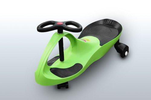 RIRICAR Lime - Auto Serpeggiante, per Bambini con Ruote in PU silenzios