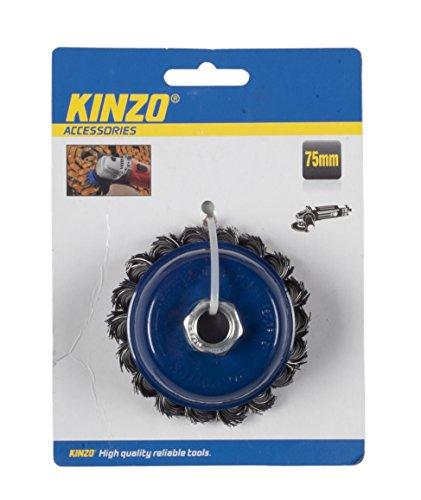 Kinzo 54589 Brosse métallique 75 mm