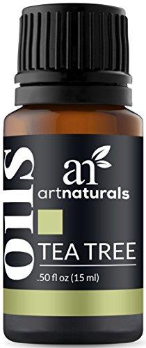 ArtNaturals 100% Naturreines Ätherisches Teebaumöl - (.05 Fl Oz/15ml) - Tea Tree Essential Oil - Melaleuca Alternifolia - Bio Teebaum - Zur Aromatherapie und Einreibung