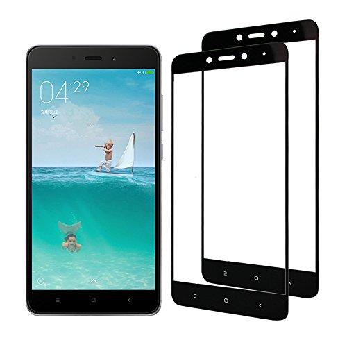 [2-Pack] Xiaomi Redmi Note 4 Cristal Templado, Nazzamo Xiaomi Redmi Note 4...