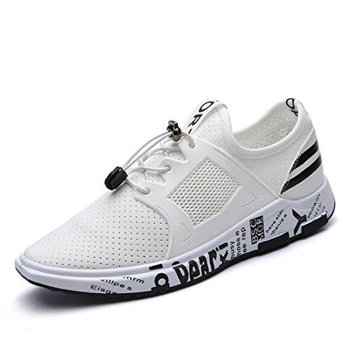 Sportive Scarpe da Lavoro Uomo - Uomo Scarpe Casual Sneakers (39, Blu)