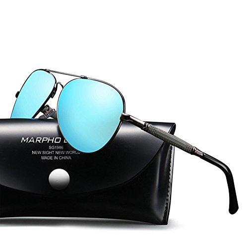 CJ Polarisierte Sonnenbrille-Sonnenbrille-Sonnenbrille der Männer u. Frauen-treibende Gläser-Fischen-Gläser, 010