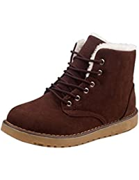 Oyedens Stivali Scarpe Donna Invernale Sportive Scarpe da Corsa Moda  Sneakers Caldo Antiscivolo Outdoor Women Winter 7087e9a70c8