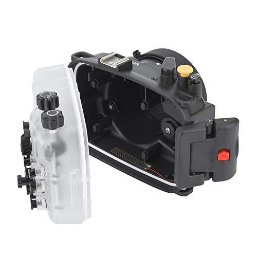 hülle,130ft / 40m Wasserdicht Langlebig Unterwasser Kameras Gehäuse Tauchkoffer Kamera Schutzhülle Haut mit Doppeltem Dichtungsring für A6400 Kamera ()