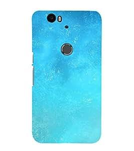 EPICCASE Blue Sky Mobile Back Case Cover For Huawei Nexus 6P (Designer Case)
