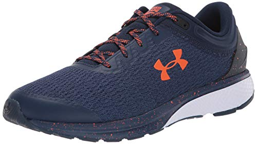 Under Armour UA Charged Escape 3, Zapatillas de Running para Hombre, Azul Academy/White/Team Orange...