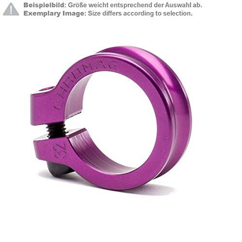 Chromag Sattelklemme NQR Violett Gr. 30 mm