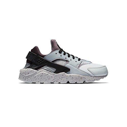 a4dc0df7d15d3 Nike NIKE704830-011 Air Huarache Run Platino (PRM Pure Platinum) Gris (Wolf  Grey) Negro oara Hombre 704830-011 Hombres