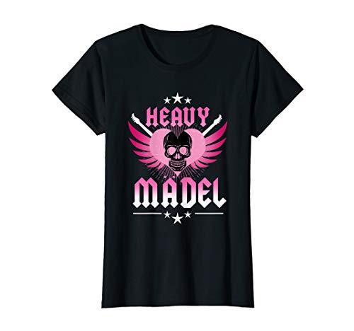 Damen Heavy Mädel T-Shirt   Metal Metalfan Rocker Biker Geschenk -