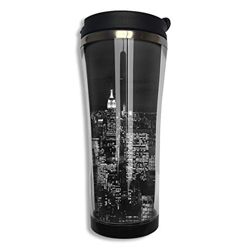 Tumbler Travel Mug New York City Insulated Both Cold & Hot Coffee Mug 14 Oz (420 ML) (York New City Tumbler)