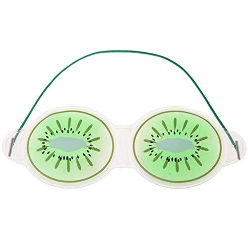 Hothap Fruit Ice Gel Augenklappe Cold Pack Hot Cool Beruhigende Massage Cover Schlaf Augenmaske