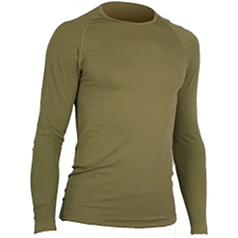 Tee Shirt ml Summit 1ERE piel Micro aéré–Coyote, XL