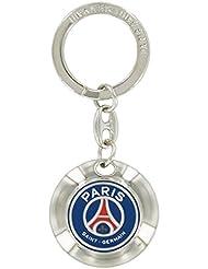 Porte-clefs galet rond PSG - Collection officielle Paris Saint Germain [Divers]