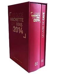 Coffret Le guide Hachette des vins : Avec un livre de cave