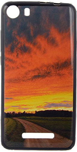 iCandy UV Printed Matte Finish Soft Back cover for Micromax Canvas Spark 2 Q334 - REDROAD  available at amazon for Rs.119