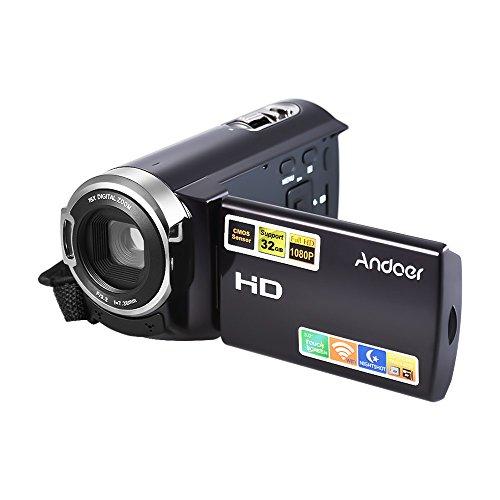 Andoer fotocamera digitale portatile 24mega pixels 1080p full hd con night-shot / 3.0