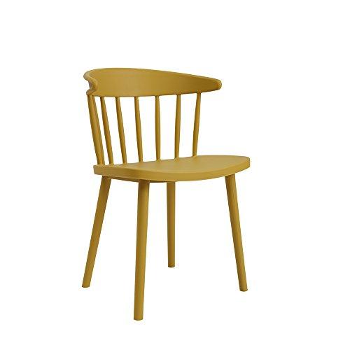LJHA Tabouret pliable chaise à manger chaise Bureau pour discuter des chaises en tissu occasionnels chaise d'accueil 7 couleur en option 78 * 50 cm chaise patchwork (Couleur : F)