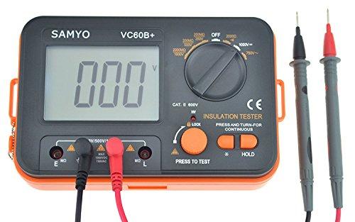 VC60B + Digitale Isolierung Widerstand Tester Megger, 1999Megohmmeter DCV ACV Meter