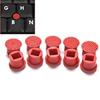 7thLake 20pcs Classic Universal Laptop Nipple Rubber Mouse Pointer Cap Soft Little TrackPoint Red Cap for IBM Thinkpad