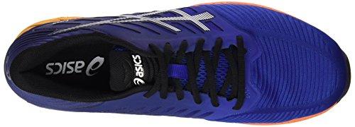 Asics - Asics fuzeX Black White Onyx uomo Multicolore (ASICS BLUE / INDIGO BLUE / HOT ORANGE)