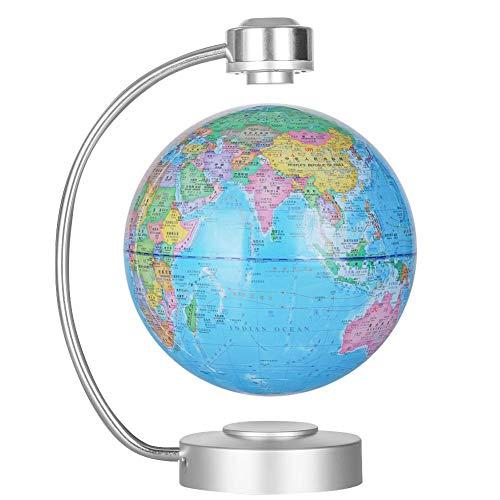 Semme Levitation Floating Globe Magnetschwebebahn Floating World Map Globus schwebende Globus mit Weltkarte und Constellation Home Office Dekoration, pädagogische Geographie Geschenk