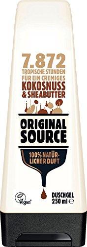 Original Source : Duschgel Kokosnuss & Sheabutter - Vegan