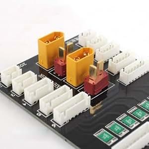 Haute Qualité PL6 Lipo batterie 6S Chargeur parallèle de plaque avec XT60 plug