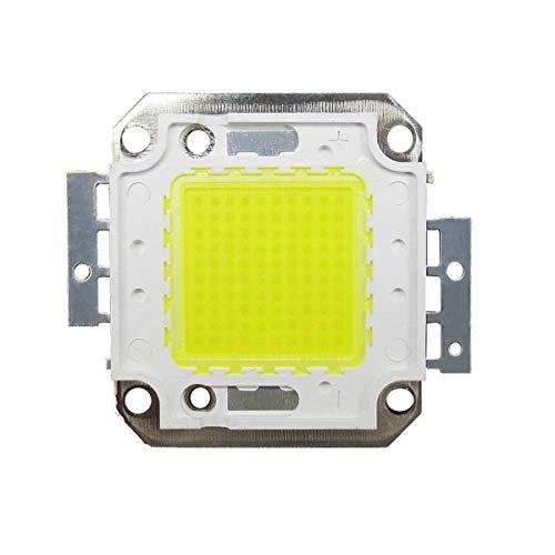 Tesfish 100W LED Chip White Bulb High Power Energy Saving Lamp Chip (100W white) Led-chip