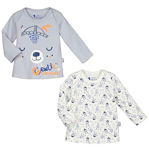 Lot de 2 t-shirts manches longues bébé garçon Magic Dragon - Taille - 12 mois (80 cm)