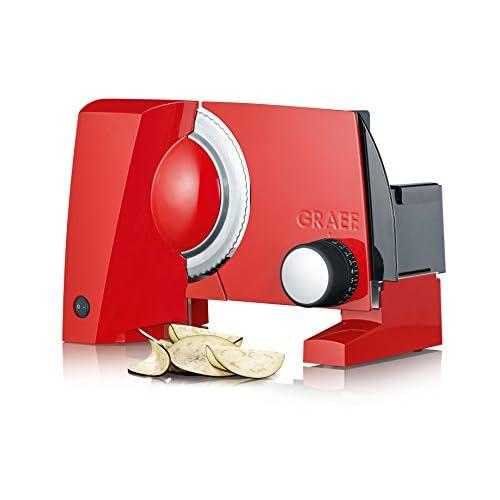 41gSddF8rFL. SS500  - Graef S 10003Electric 170W Aluminium Red Slicer Freiraumschneider (Aluminium, Red, 230mm, 325mm, 240mm, 2.33KG)