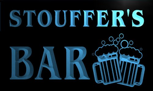 w008568-b-stouffer-name-home-bar-pub-beer-mugs-cheers-neon-light-sign