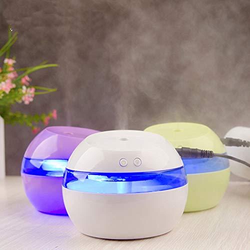 GKJRKGVF LED Lampe Nachttischlampe mit Luftaroma Luftbefeuchter Farbe USB Tisch USB Nachttischlampe Nachtlicht