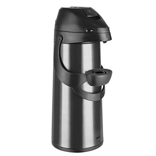 Emsa 502486 Pronto Pump-Isolierkanne, 1,9 liter, Edelstahl, anthrazit