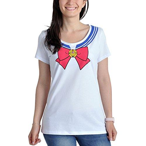Girlie Shirt weiß Baumwolle - XL ()