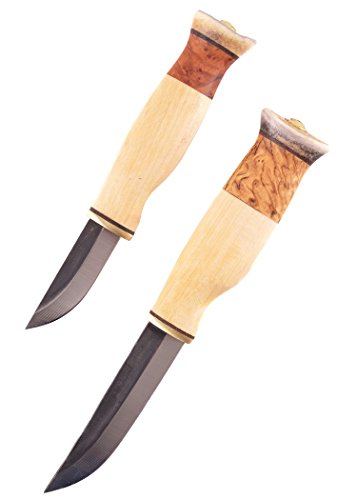 pelmesser Kaksoispuukko sarvihatulla Jagdmesser Outdoormesser Ritter Mittelalter Survival verkauf ab 18 Jahren ()