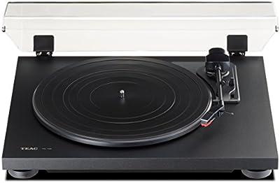 TEAC TN-100 - Giradiscos, color negro