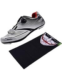 F Fityle Banda Pañuelo de Cara y Cuello Transpirable Diseño Divertido para Correr + Zapatillas de