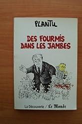 FOURMIS DANS LES JAMBES