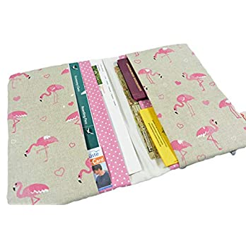Reiseetui Reisepasshülle Reiseorganizer Flamingo