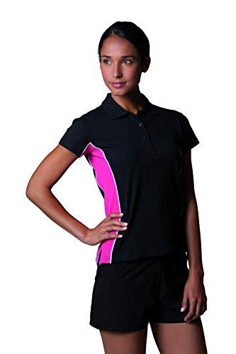 Gamegear da Donna Track piquet, Abbigliamento Sportivo, a Maniche Corte Navy/Light Blue