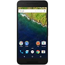 "Huawei Nexus 6P SIM única 4G 32GB Gris - Smartphone (14,5 cm (5.7""), 32 GB, 12,3 MP, Android, 6.0, Gris)"