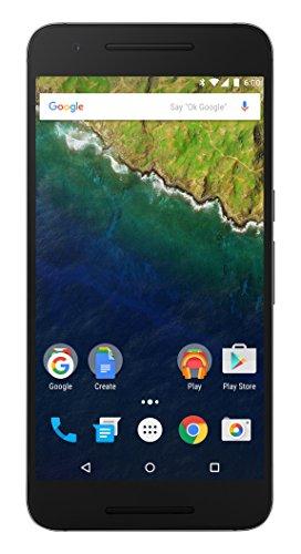 Huawei - Nexus 6P - Smartphone Débloqué - 4G (Ecran : 5,7 pouces - 64 Go - Simple Nano-SIM - Android) - Noir