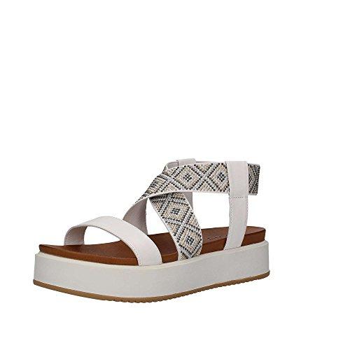 INUOVO scarpe donna sandali 7459 ORO Bianco
