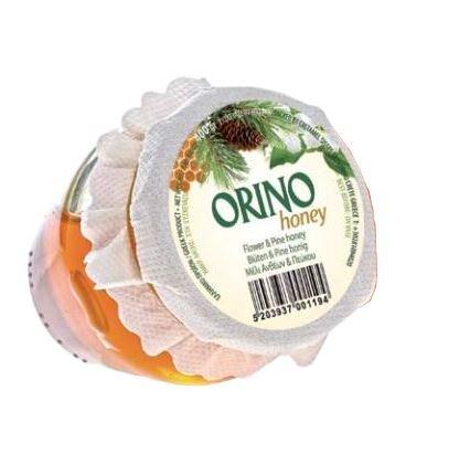 Pinien & Blüten HONIG 400g Glas Creta Mel Orino von der Insel Kreta in Griechenland - fein herber kretischer Honig von Pinienblüten Pinienhonig Bienenhonig Pinie Orino -