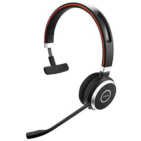 Jabra Evolve 65 UC Mono 6593-829-409 Kits Oreillette Bluetooth