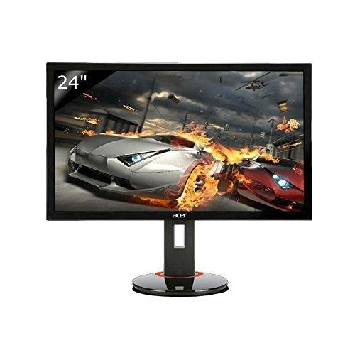 Acer Predator XB240H 61 cm (24 Zoll) Monitor (VGA, DVI, HDMI, 1ms Reaktionszeit, 144 Hz, Höhenverstellbar, Pivot) schwarz